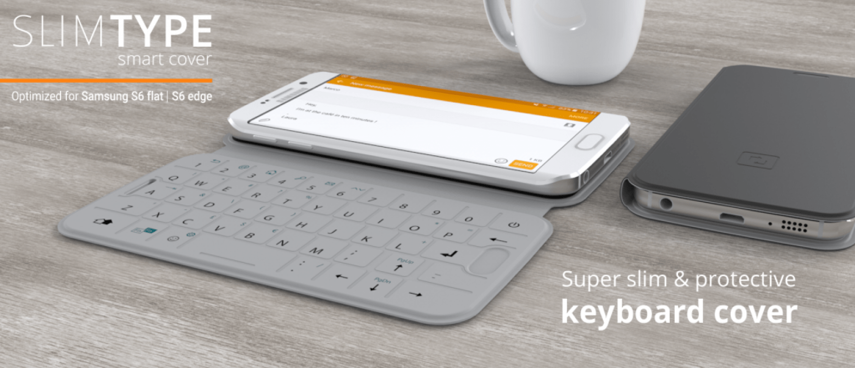 Galaxy S6 and S6 edge get NFC-enabled QWERTY keyboard case
