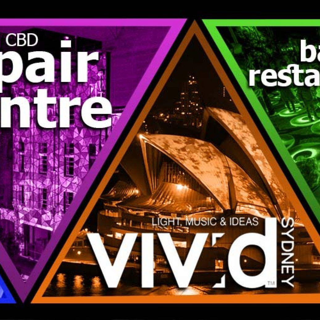 Vivid Sydney Bars and Restaurants
