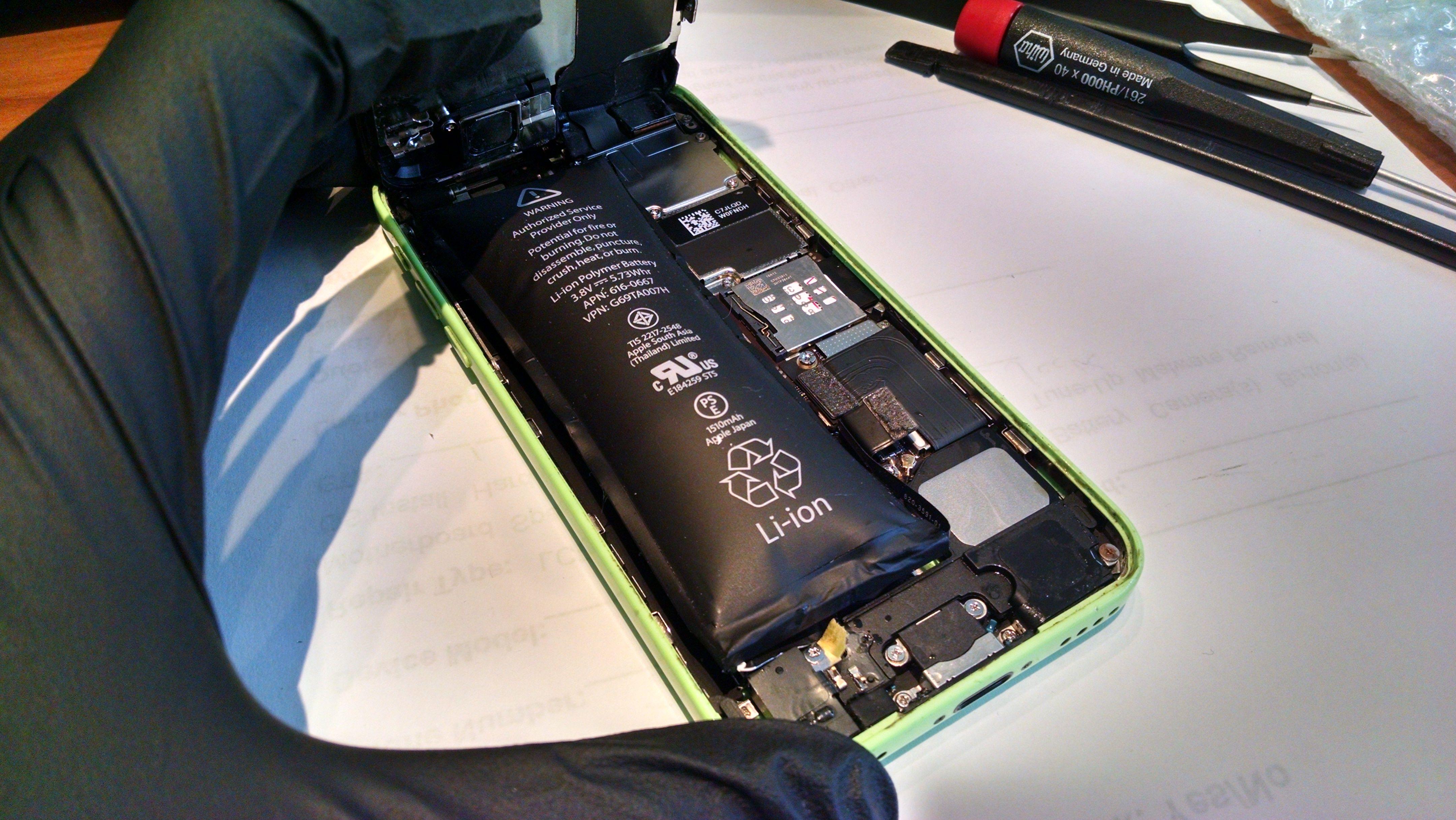 battery-swollen