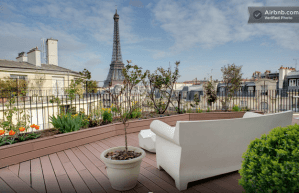 Accommodation with Eiffel Tower views Paris