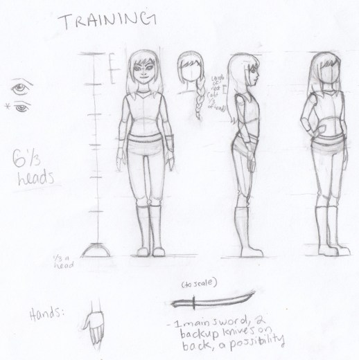 training character design
