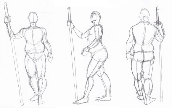 Gesture - Contrapposto rotation