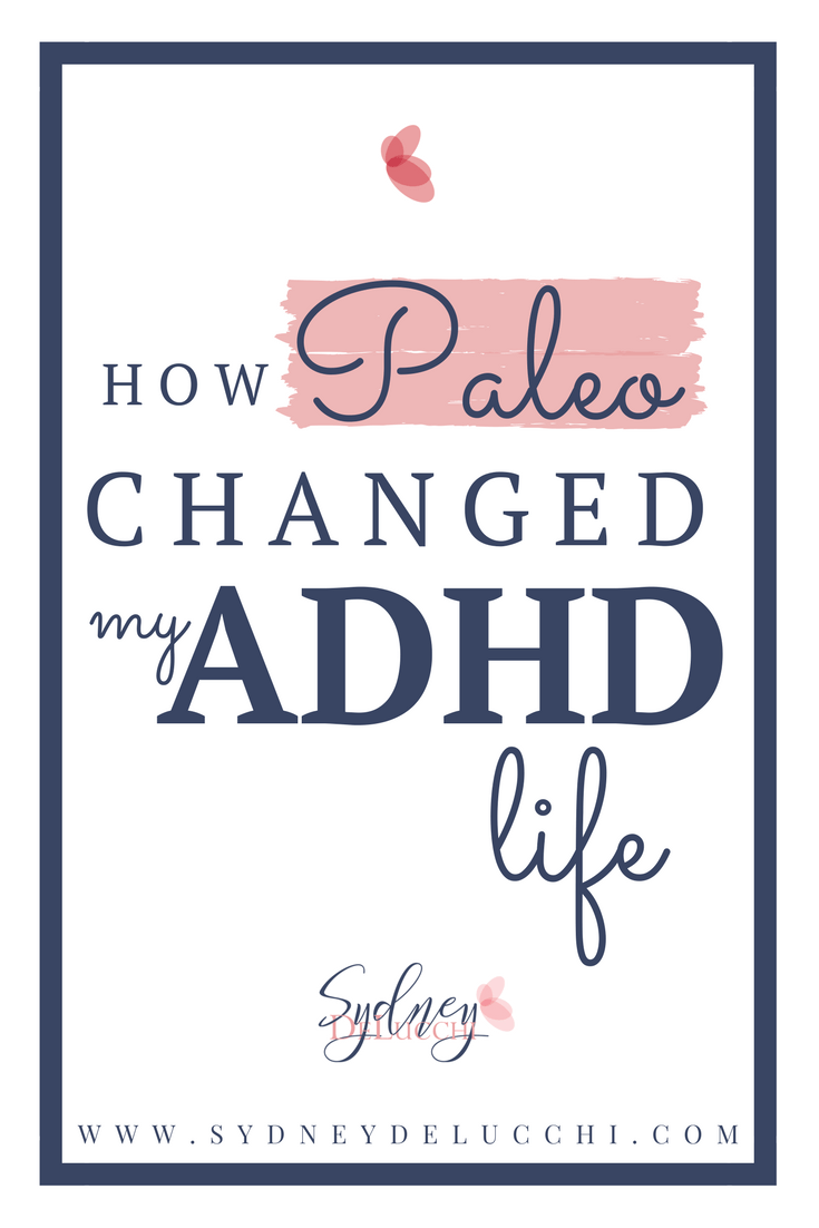 paleo and adhd medication free