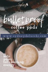 keto paleo fat burning coffee pods recipe