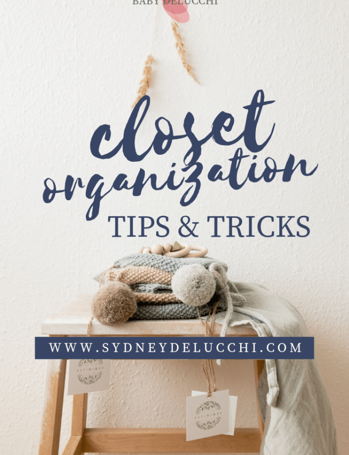Organizing for Baby & Week 23 Update