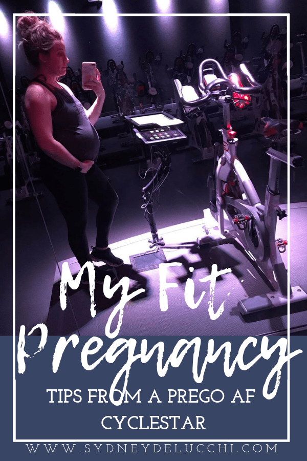 fit pregnancy cyclebar