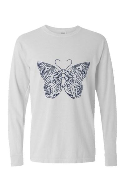CC Pigment Dyed Heavyweight Long Sleeve T Shirt