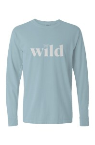 WILD 🦋 Comfort Colors Pigment Dyed Heavyweight Long Sleeve T Shirt