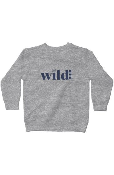 Wild Mini Kids + Toddlers Fleece Sweatshirt
