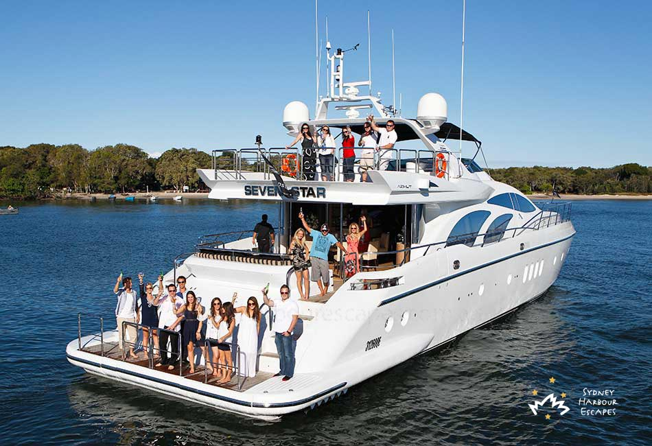 Seven Star Boat Hire Private Boat Charter Sydney Harbour