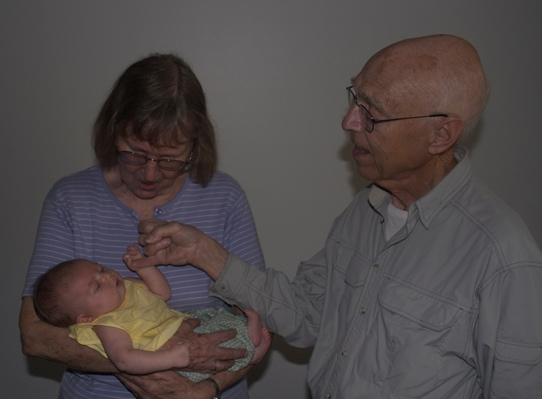Mom and Dad with Sydney Sept 14 2013 web
