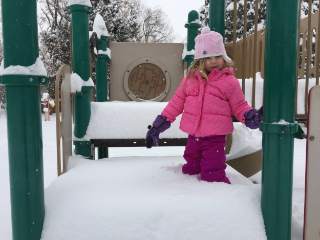 Snowday - snow up to the knees