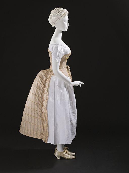 Woman's undergarment, c. 1885.
