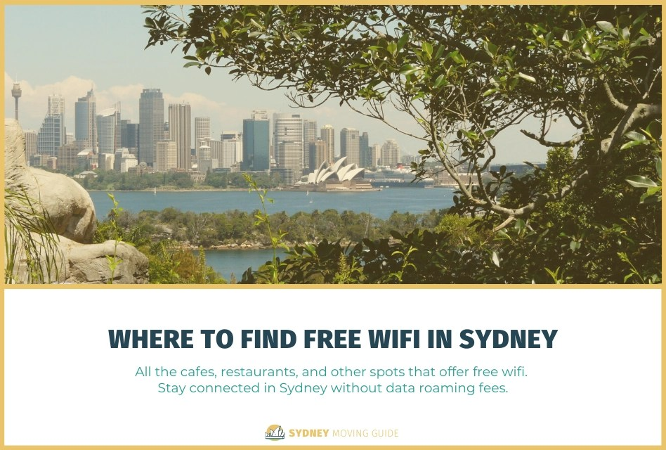 Where to Find Free Wifi in Sydney, Australia
