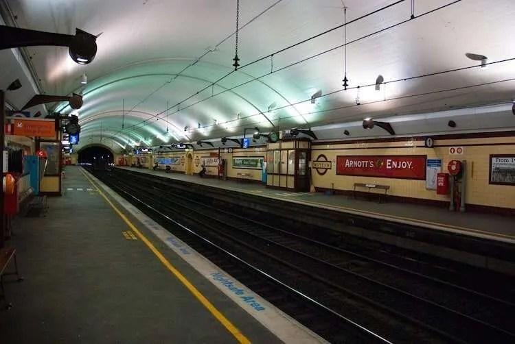 Museum Station Sydney Australia
