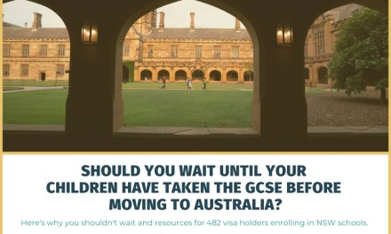 Should You Wait Until Your Children Have Taken the GCSE Before Moving to Australia?