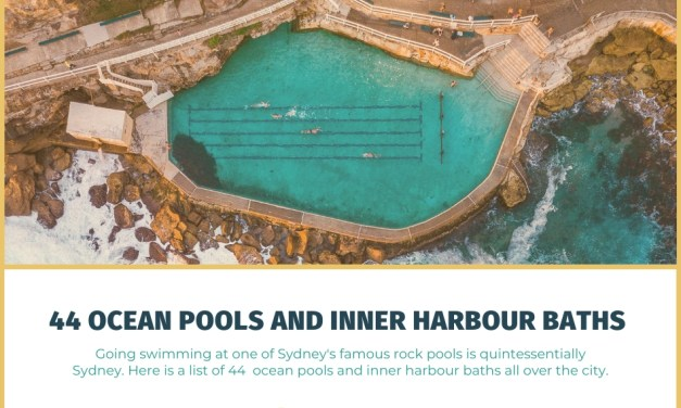 44 Ocean Pools and Inner Harbour Baths in Sydney