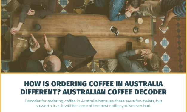 Guide To Ordering Coffee in Australia