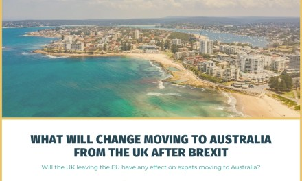 What Will Change Moving to Australia From the UK After Brexit