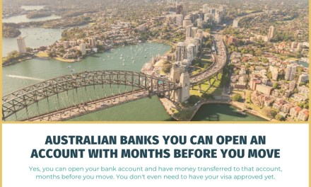 Australian Banks You Can Open an Account with Months Before You Move