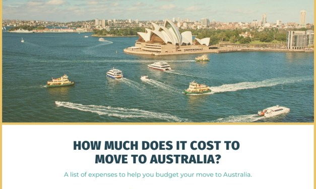 How Much Does It Cost to Move to Australia? List of Moving Expenses to Budget For.