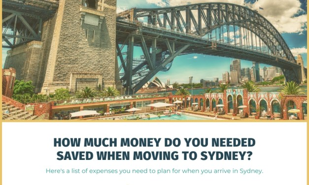 How Much Money Do You Need Saved When Moving to Sydney?