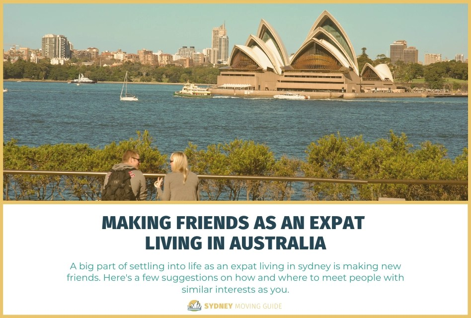 Making Friends as an Expat Living in Australia