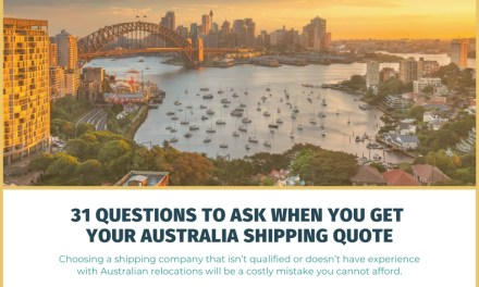 31 Questions to Ask When You Get Your Australia Shipping Quote