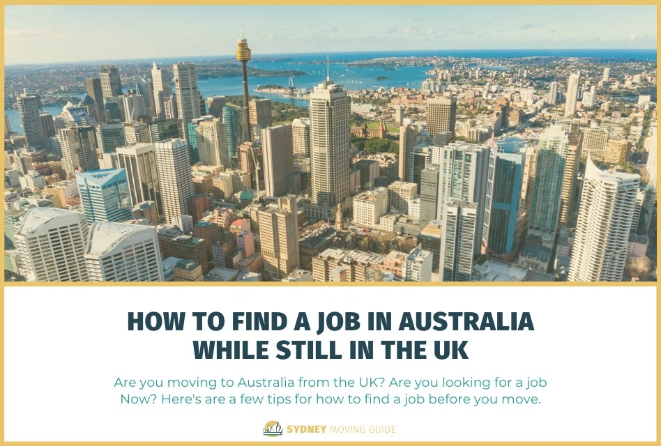 How to Find a Job in Australia While Still in the UK