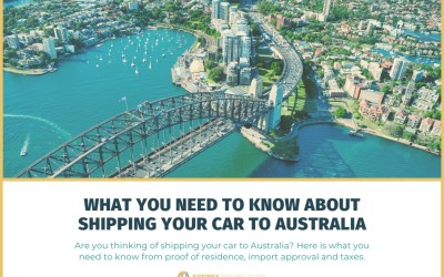 What You Need to Know About Shipping Your Car to Australia