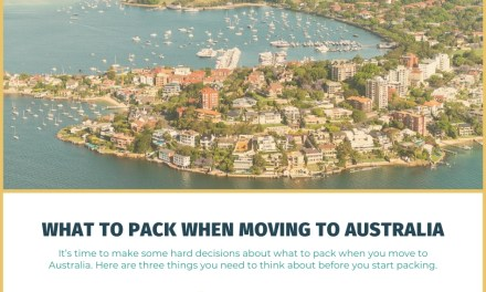 What to Pack When Moving to Australia