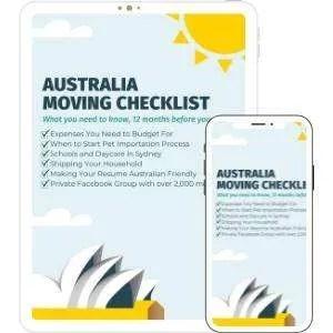 Australia Moving Checklist Download
