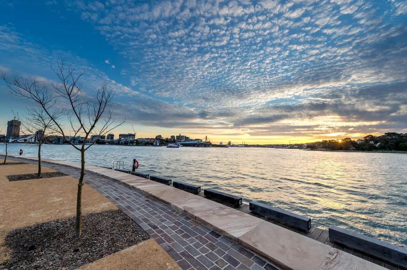 Barangaroo Reserve - Parking. NYE. History. Cafe. Map. Address. Sydney