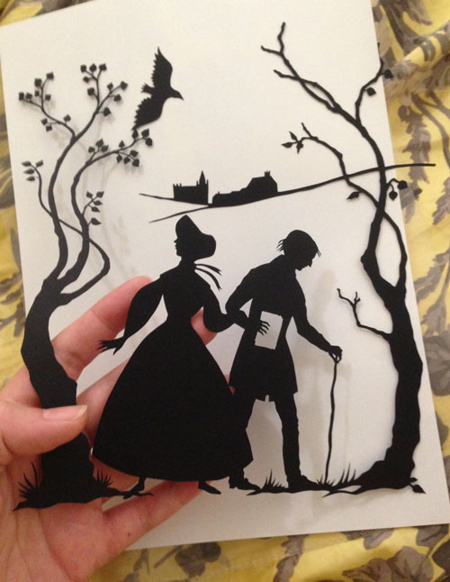 Middlemarch paper cut