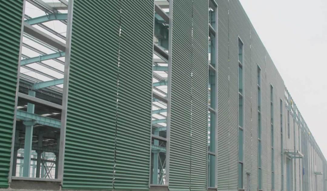 Cladding on Factory Sydney
