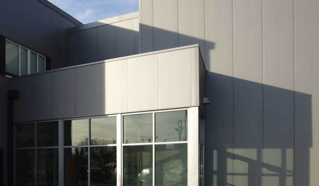 metal colorbond cladding