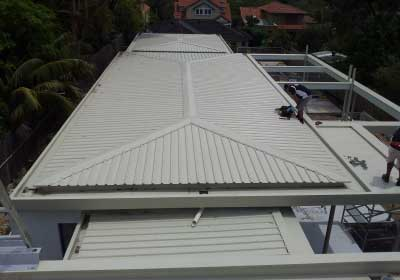 roof repairs sydney trim dek