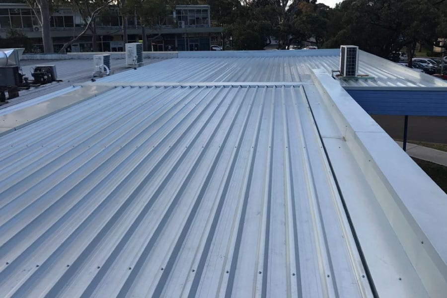 Colorbond metal roof replacement northshore