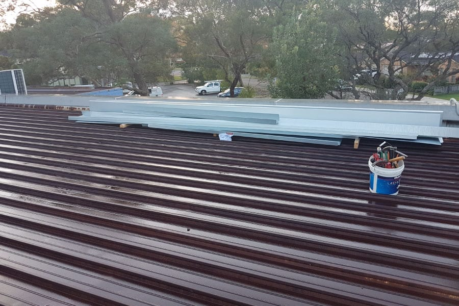 colorbond roof replacement sydney north