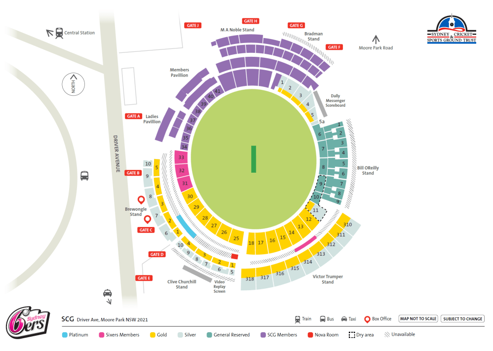medium resolution of the sydney cricket ground is of course wheelchair accessible with seating bays around the ground to make sure you have a great night out