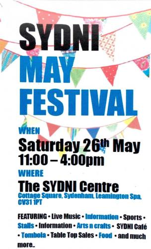 SYDNI May Festival 2018 Poster