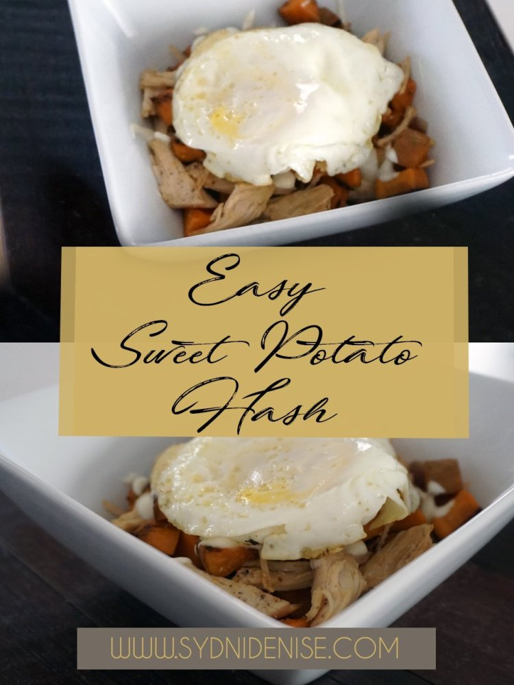 Easy Sweet Potato Hash - Sydni Denise - 960x1280