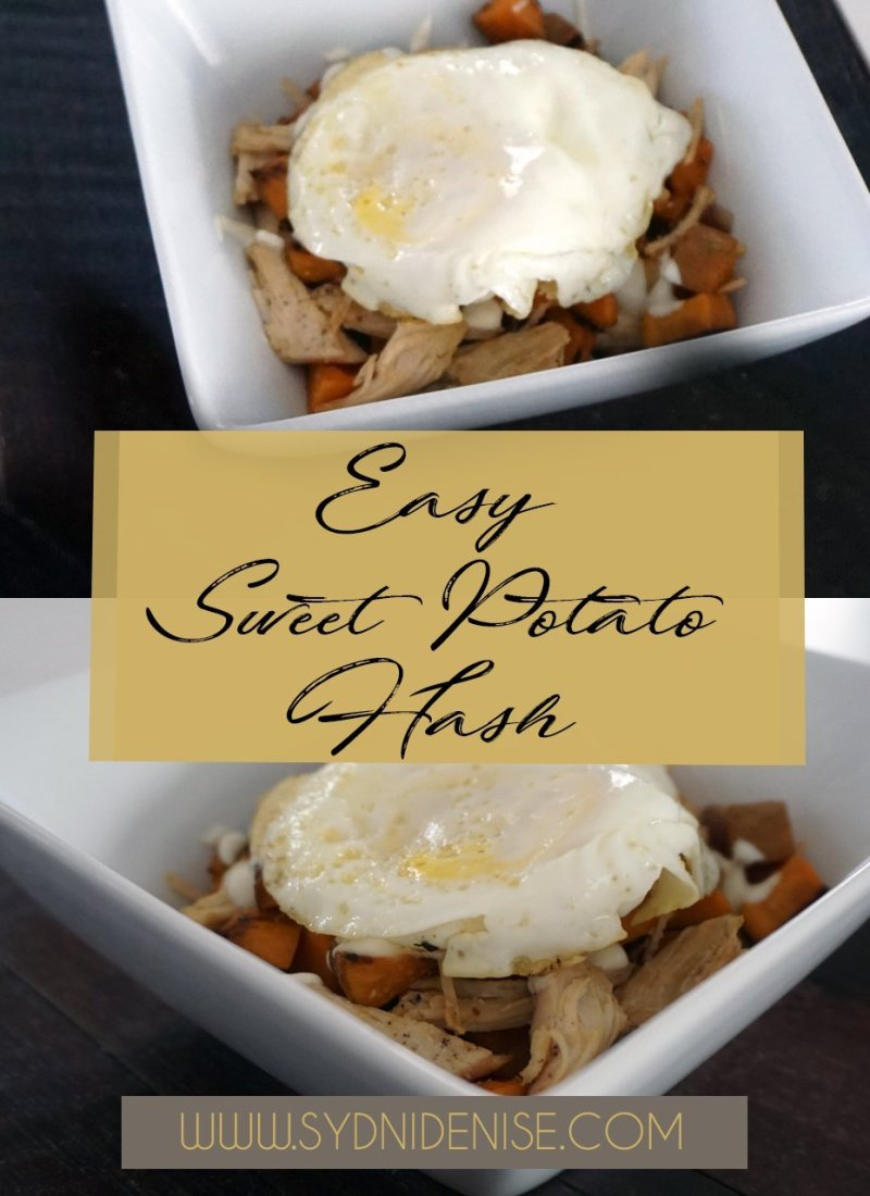 Easy Sweet Potato Hash