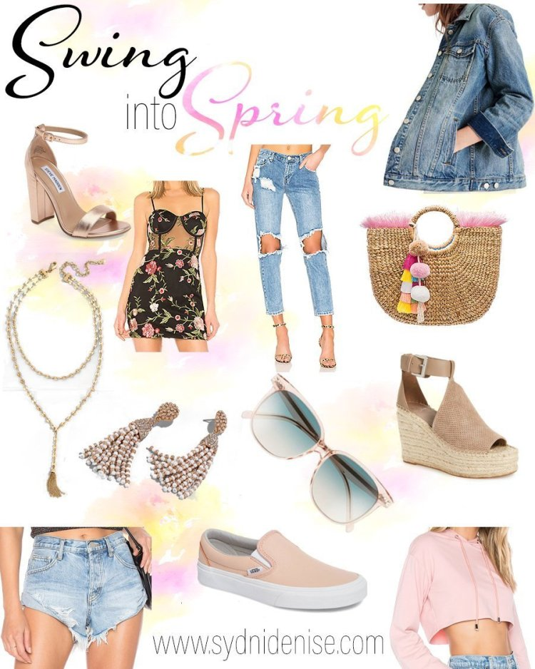 Spring 2018: Swing into Spring Style | Sydni Denise