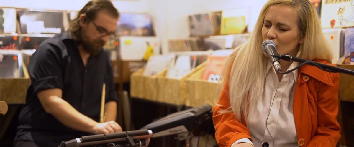 Lia Hide at Syd Records