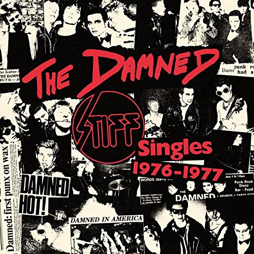 The Damned - Stiff singles box
