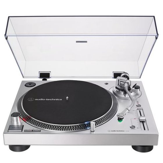 audio-technica-turntable-silver