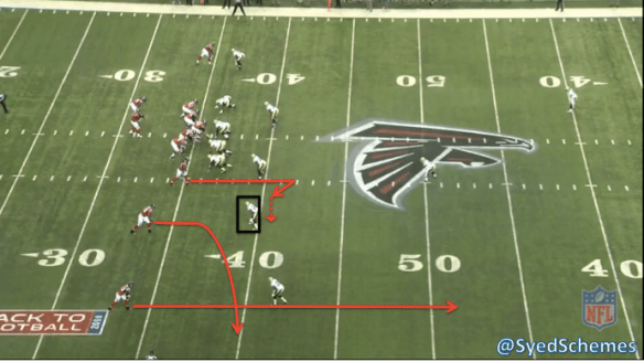 Roddy White Stick Route