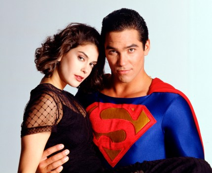 Dean Cain Teri Hatcher Lois and Clark