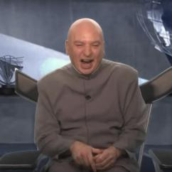 Dr Evil Chair Zanui Desk Mike Myers Returns As To Lay Out His Five Point Plan Of Making America Again Syfy Wire